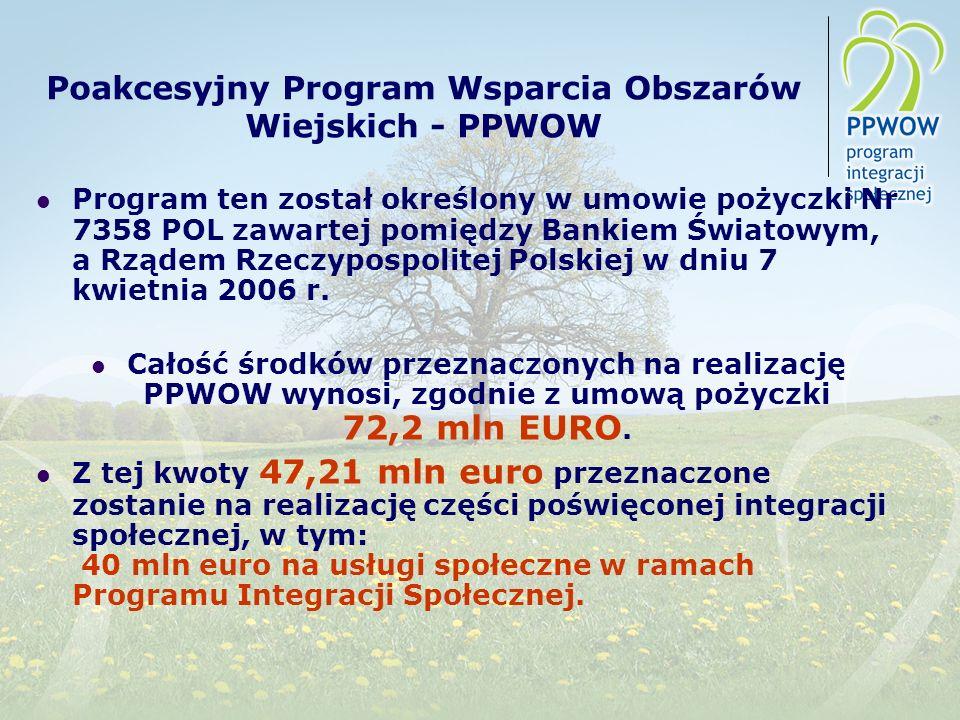Poakcesyjny Program Wsparcia Obszarów Wiejskich - PPWOW
