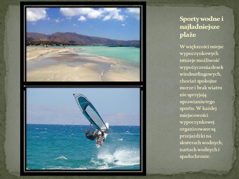 Sporty wodne i najładniejsze plaże