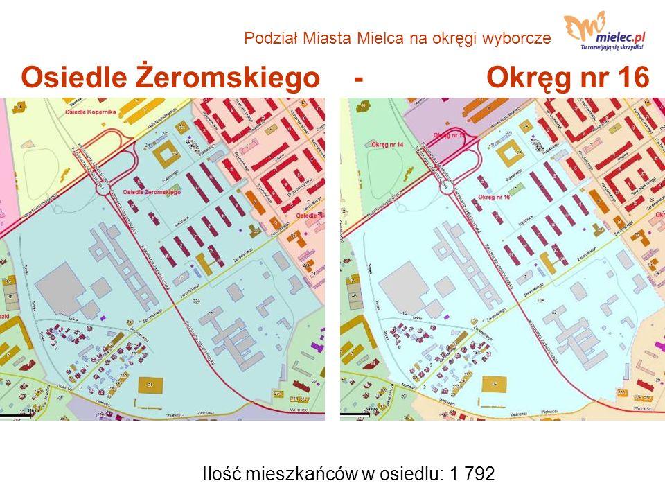 Osiedle Żeromskiego - Okręg nr 16