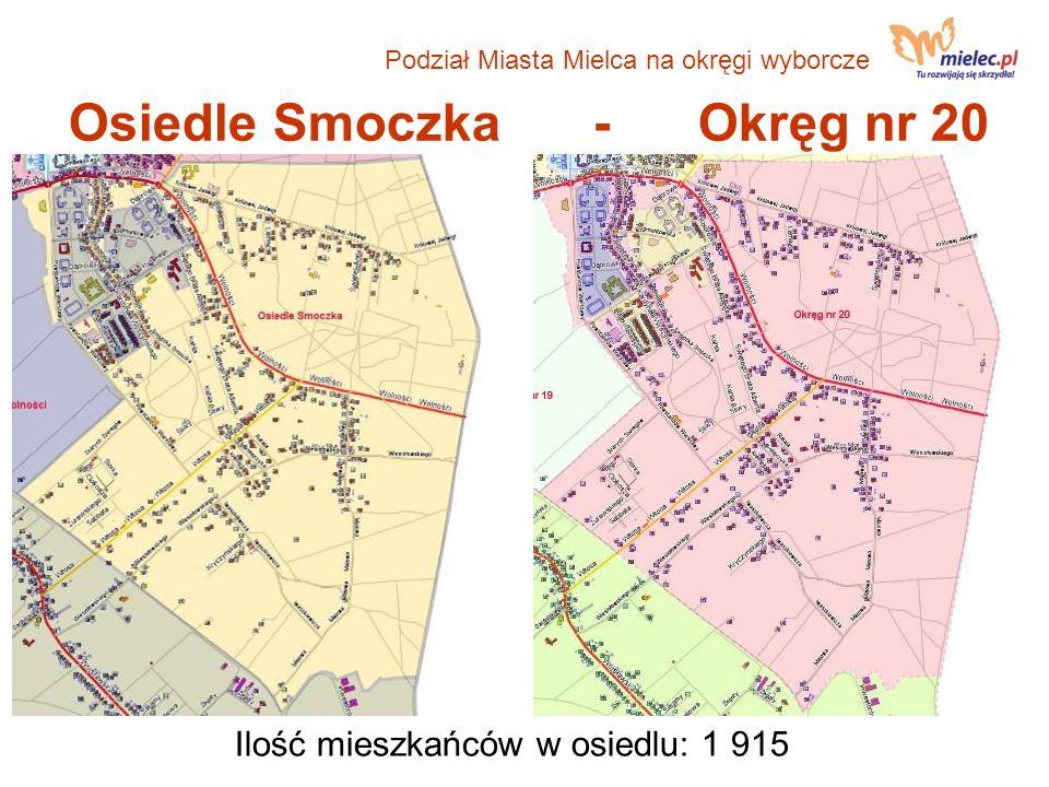 Osiedle Smoczka - Okręg nr 20