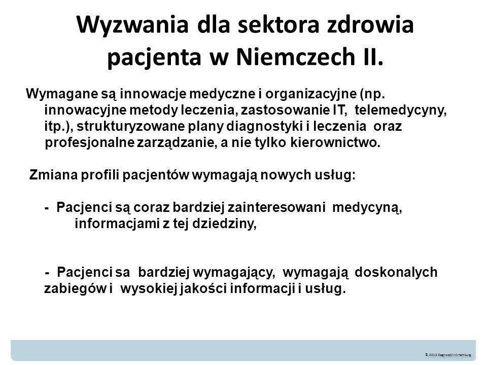 Wyzwania dla sektora zdrowia pacjenta w Niemczech II.
