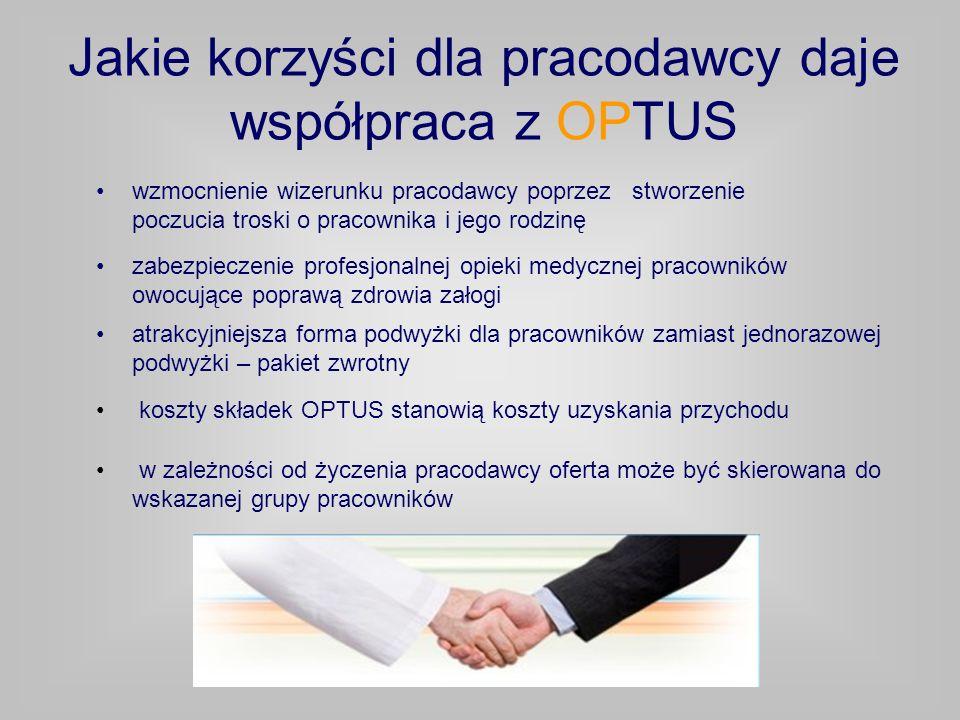 Jakie korzyści dla pracodawcy daje współpraca z OPTUS