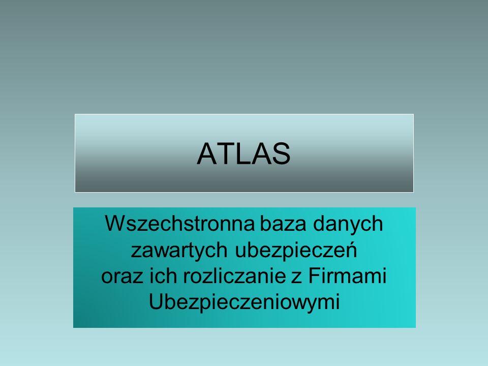 ATLAS Wszechstronna baza danych zawartych ubezpieczeń