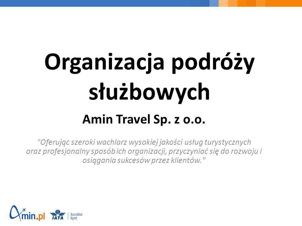 Organizacja podróży służbowych