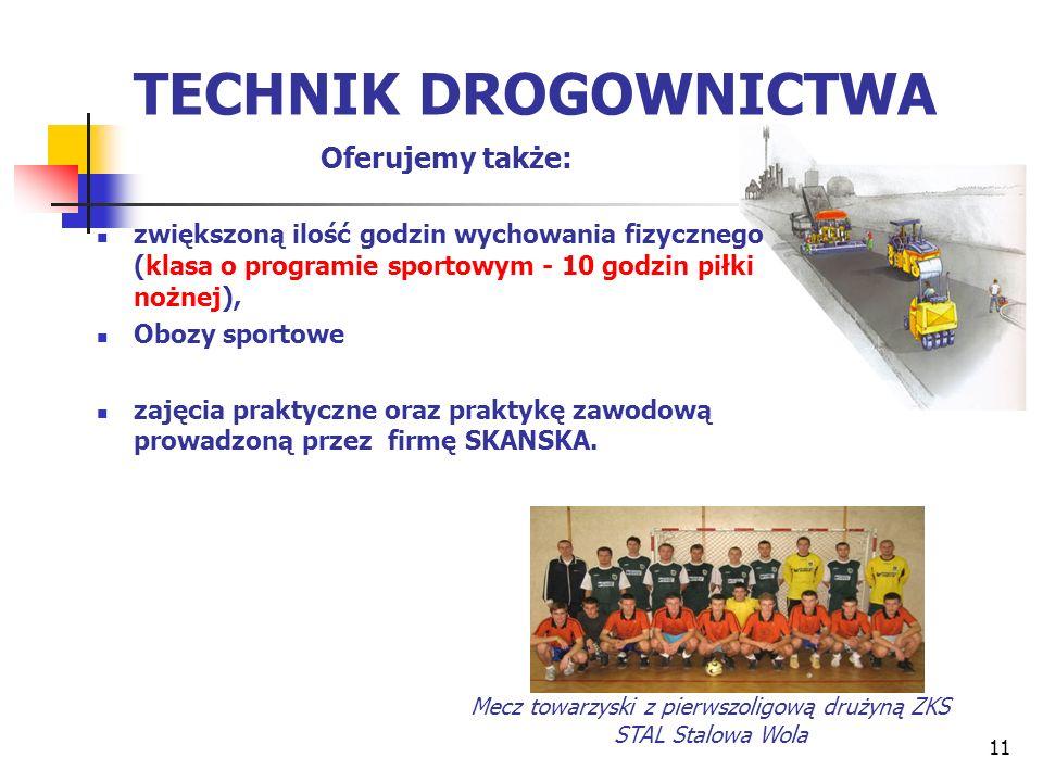 Mecz towarzyski z pierwszoligową drużyną ZKS STAL Stalowa Wola