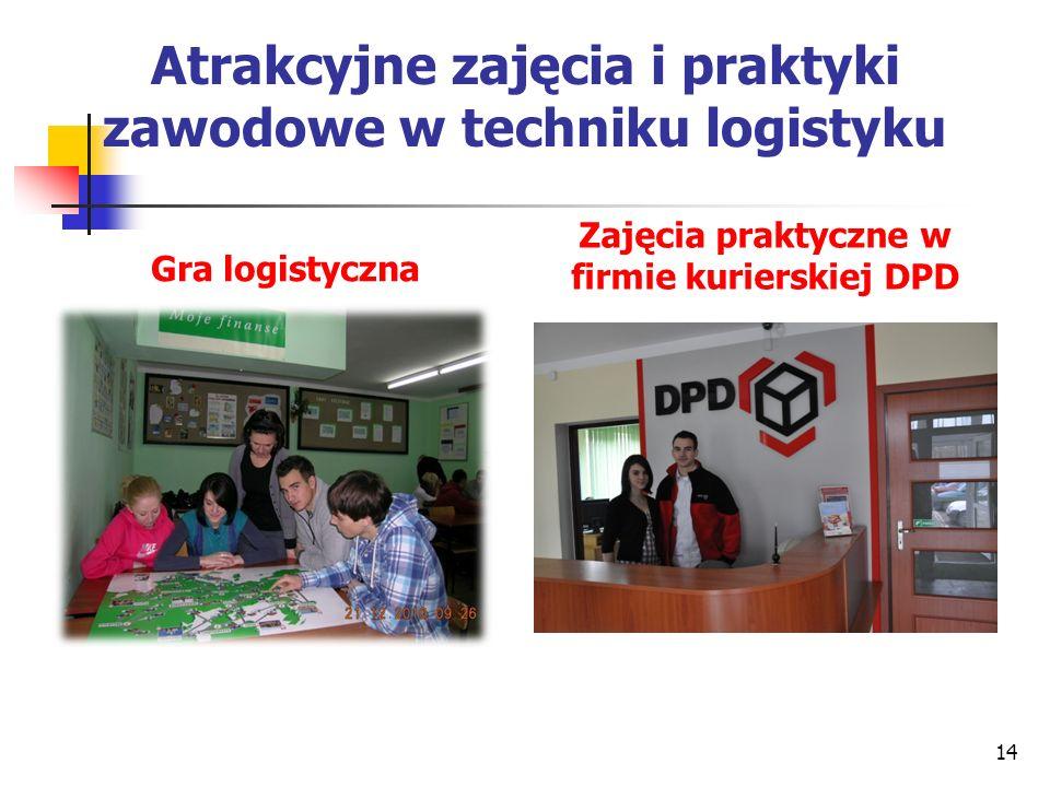 Atrakcyjne zajęcia i praktyki zawodowe w techniku logistyku