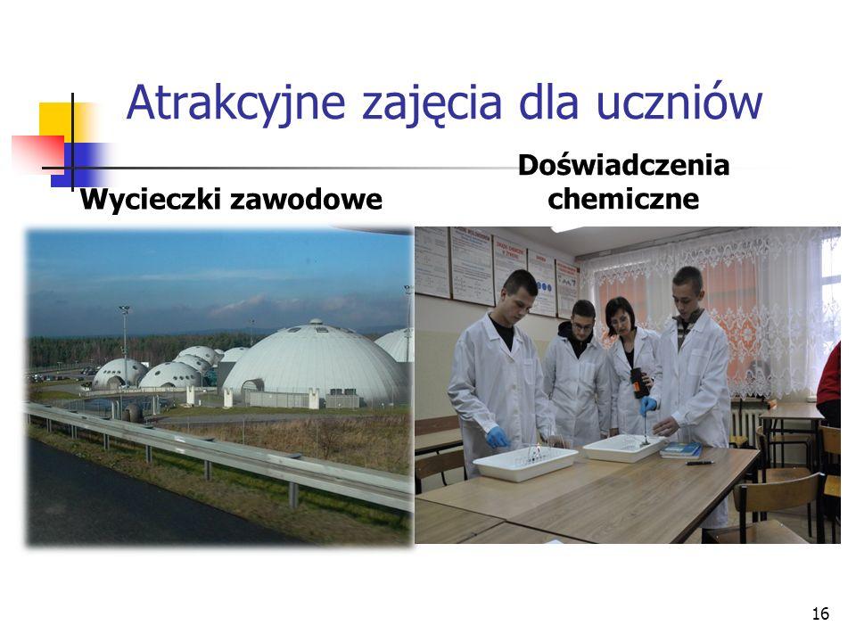 Atrakcyjne zajęcia dla uczniów