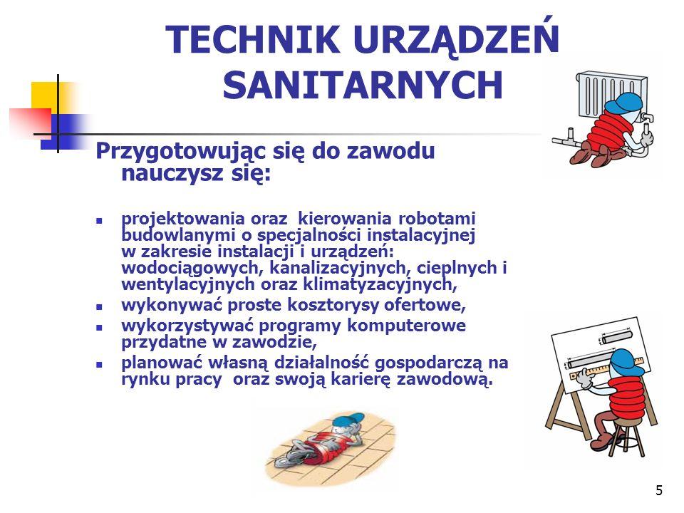TECHNIK URZĄDZEŃ SANITARNYCH