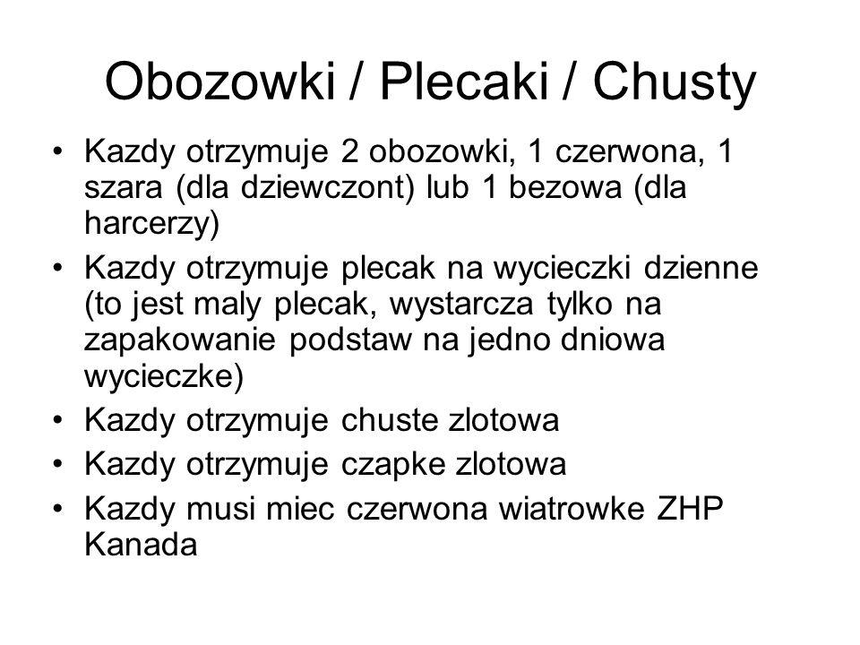 Obozowki / Plecaki / Chusty