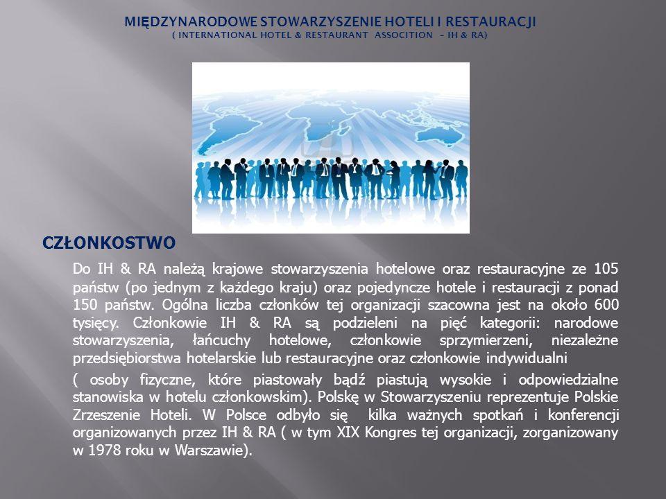 Międzynarodowe Stowarzyszenie Hoteli i Restauracji ( International Hotel & Restaurant Assocition – IH & RA)