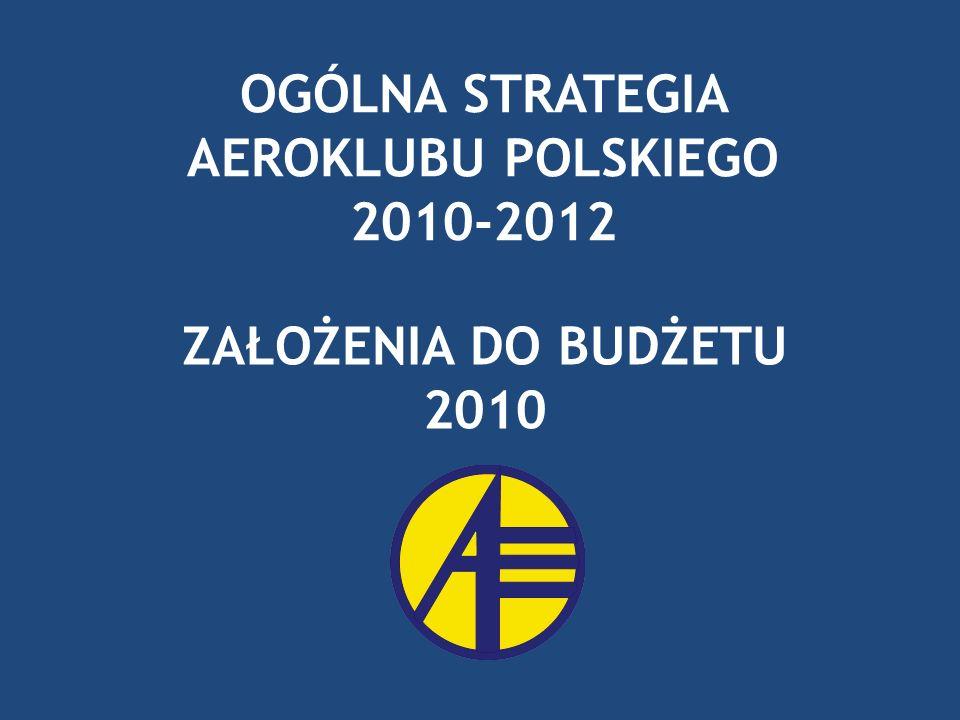 OGÓLNA STRATEGIA AEROKLUBU POLSKIEGO 2010-2012