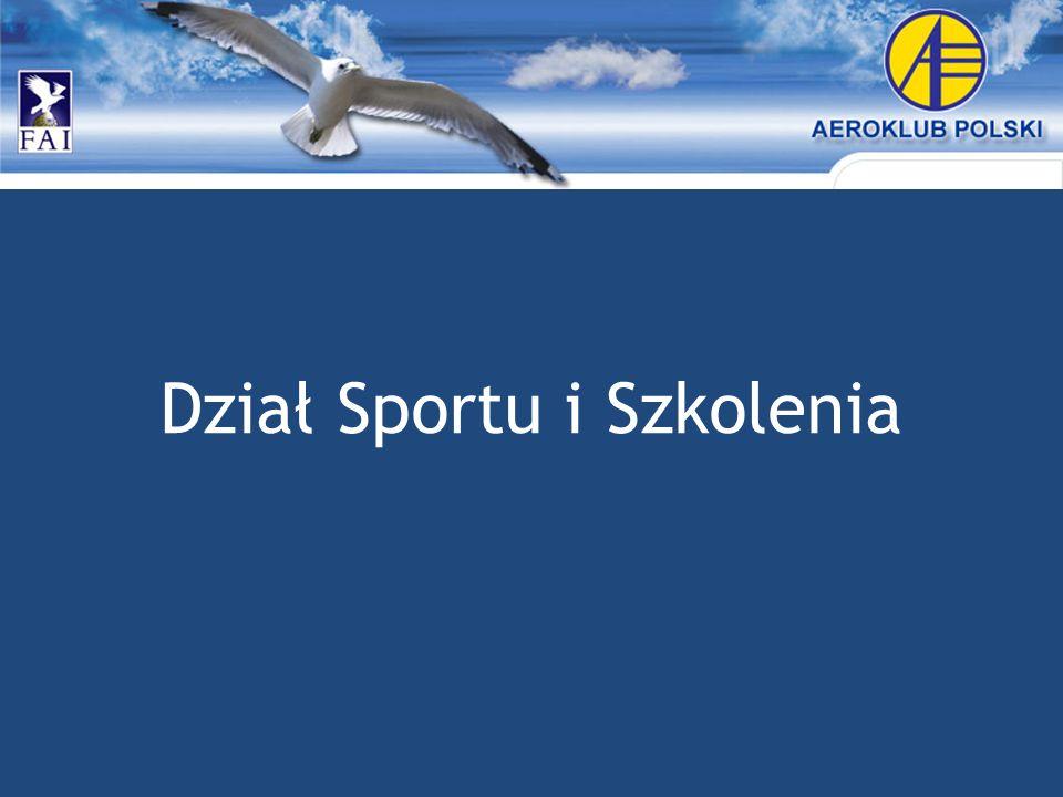 Dział Sportu i Szkolenia
