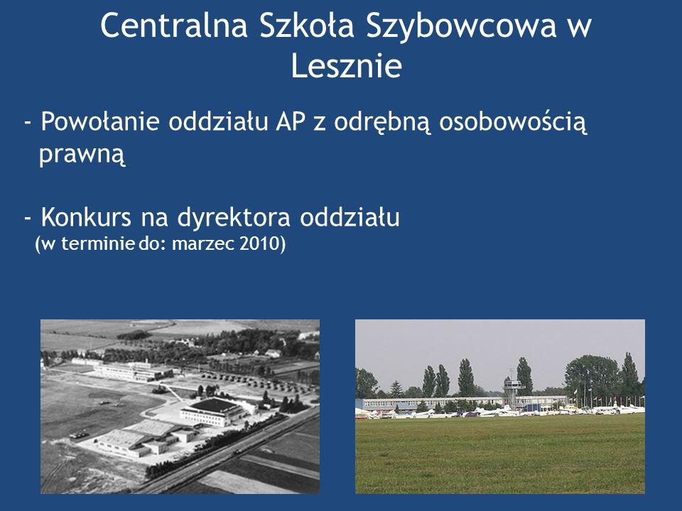 Centralna Szkoła Szybowcowa w Lesznie
