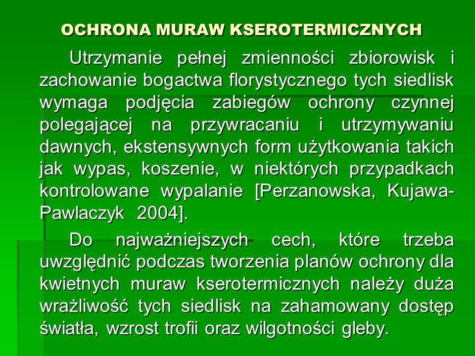 OCHRONA MURAW KSEROTERMICZNYCH