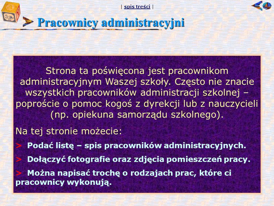 Pracownicy administracyjni