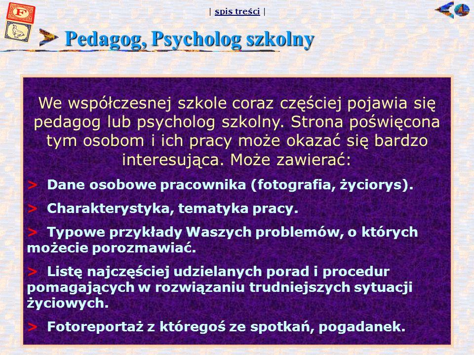 Pedagog, Psycholog szkolny