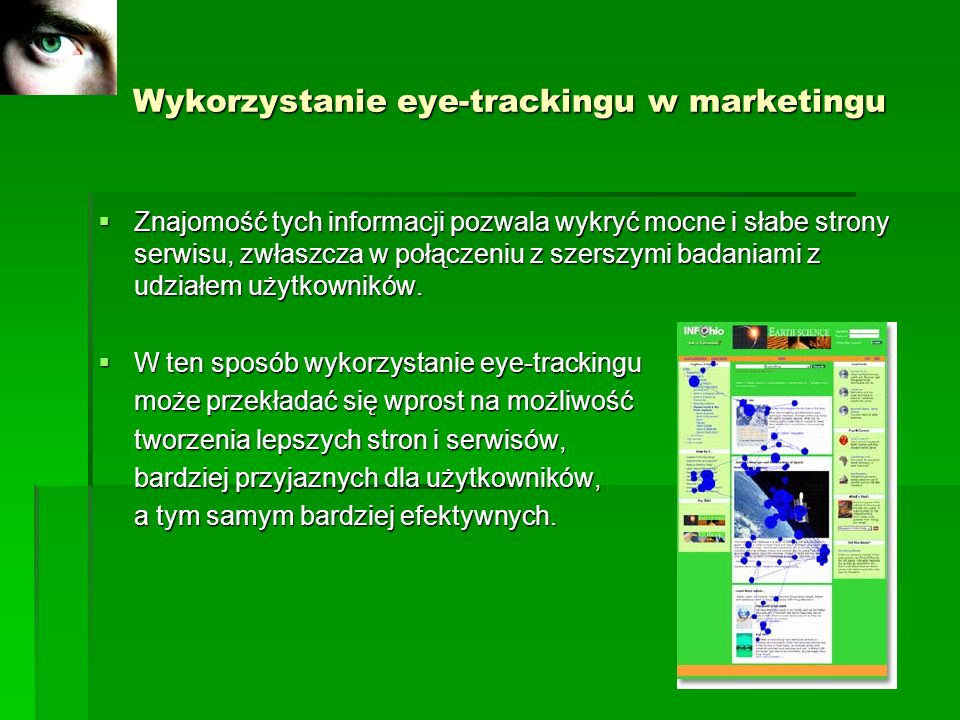 Wykorzystanie eye-trackingu w marketingu