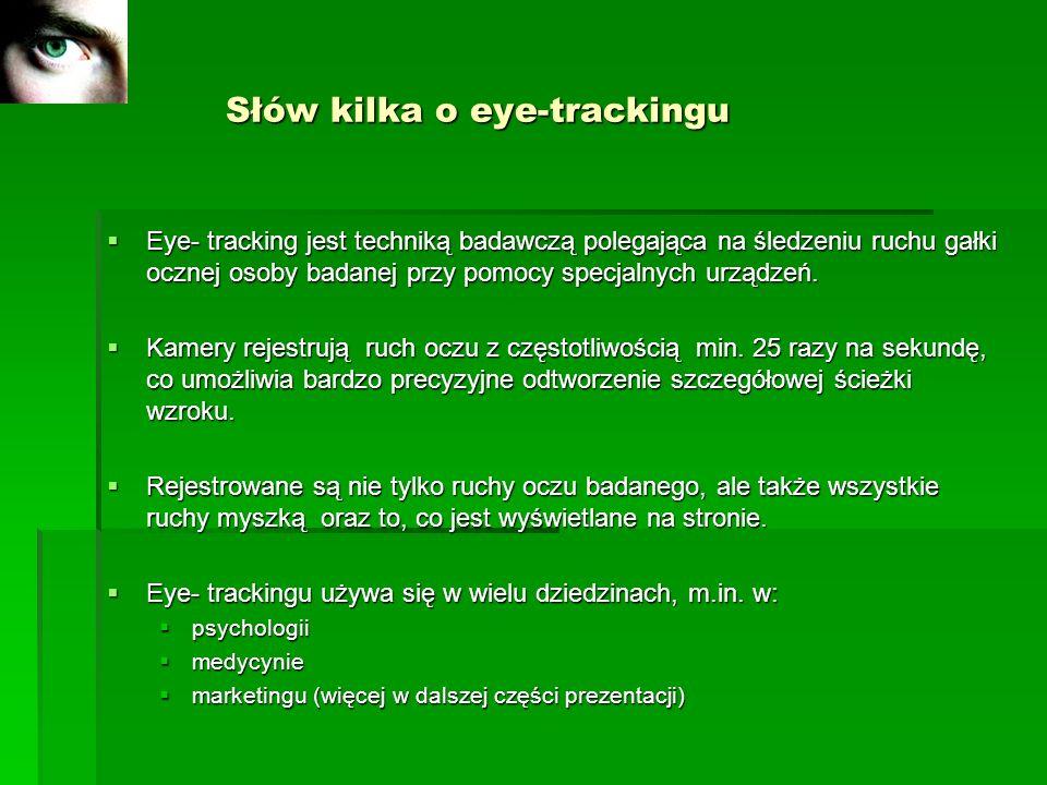 Słów kilka o eye-trackingu