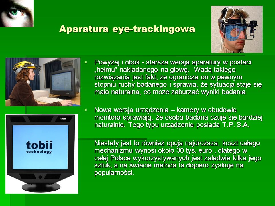 Aparatura eye-trackingowa