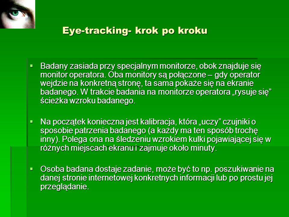 Eye-tracking- krok po kroku