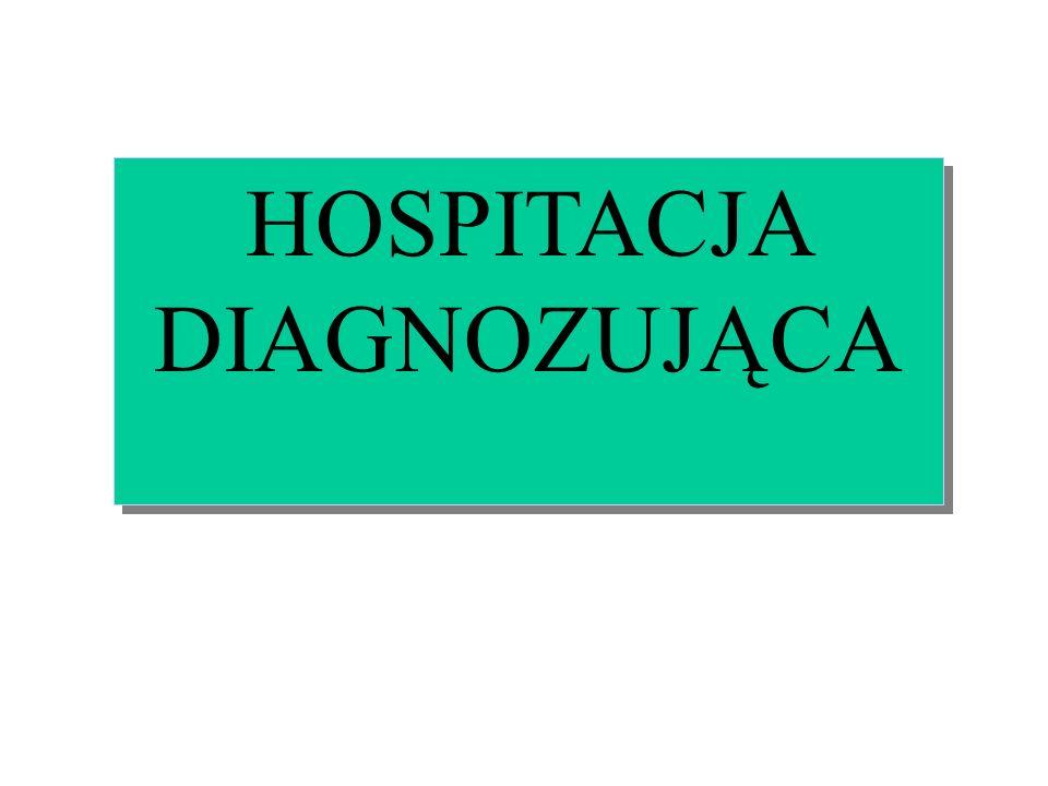 HOSPITACJA DIAGNOZUJĄCA