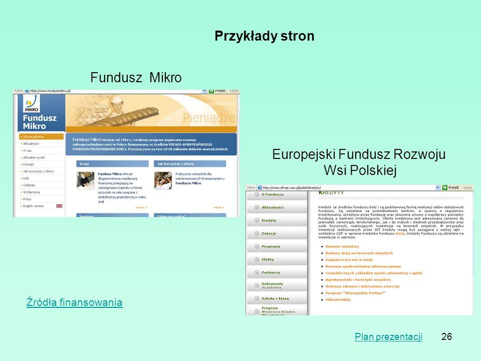 Europejski Fundusz Rozwoju