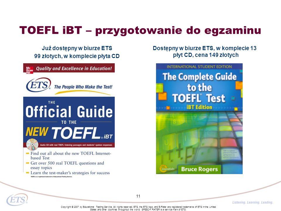 TOEFL iBT – przygotowanie do egzaminu