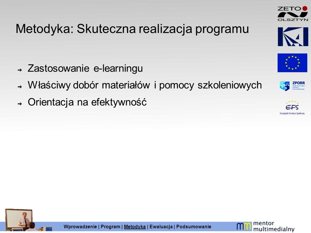 Metodyka: Skuteczna realizacja programu