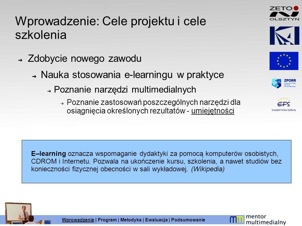 Wprowadzenie: Cele projektu i cele szkolenia