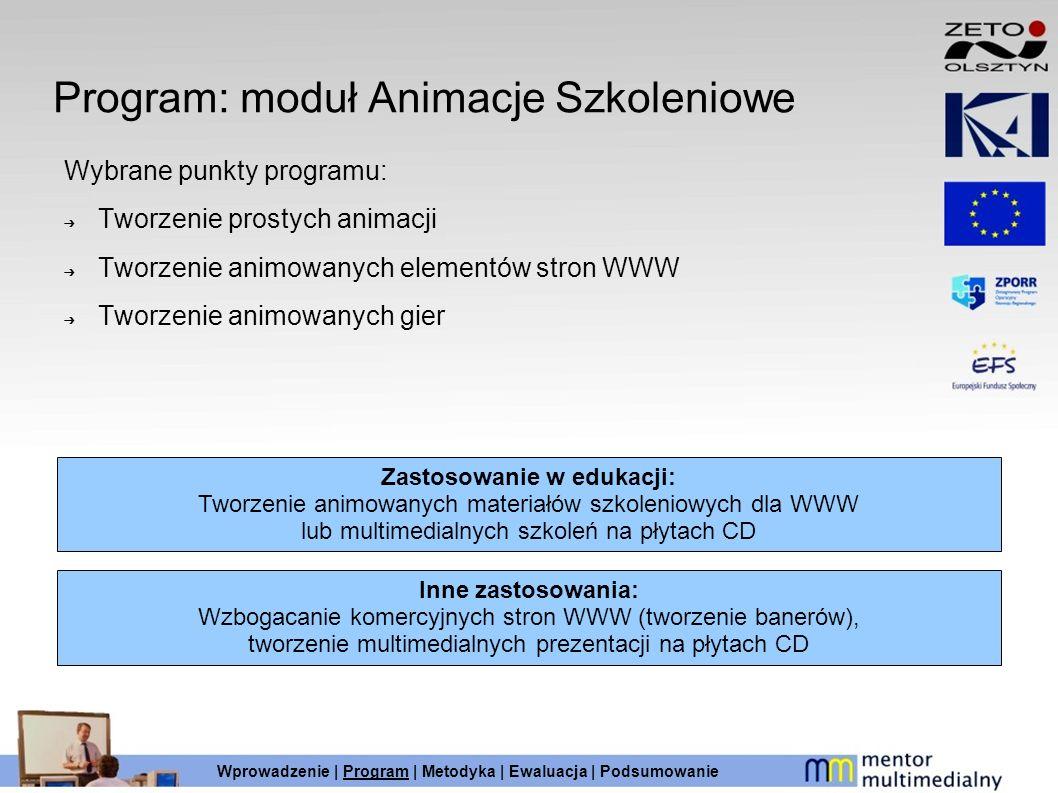 Program: moduł Animacje Szkoleniowe