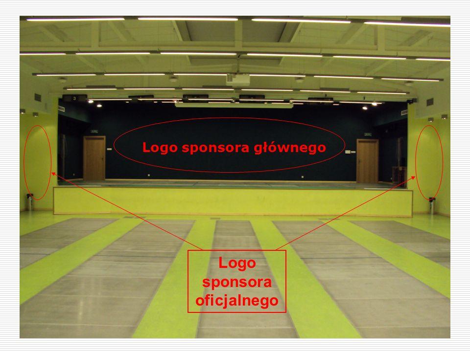 Logo sponsora oficjalnego