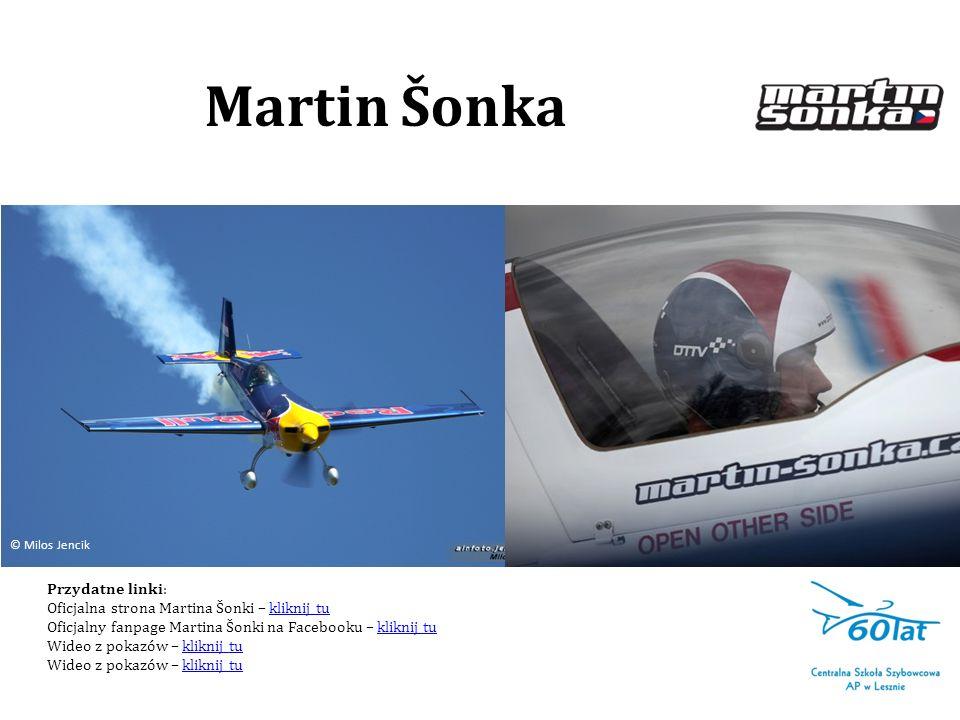 Martin Šonka Przydatne linki: