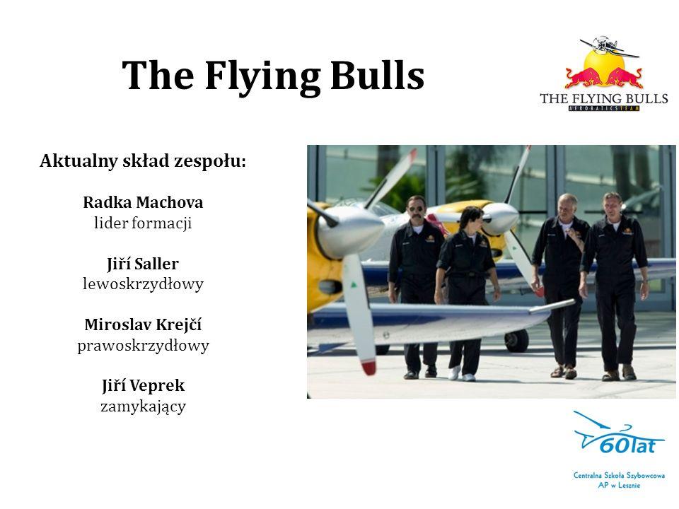 The Flying Bulls Aktualny skład zespołu: Radka Machova lider formacji