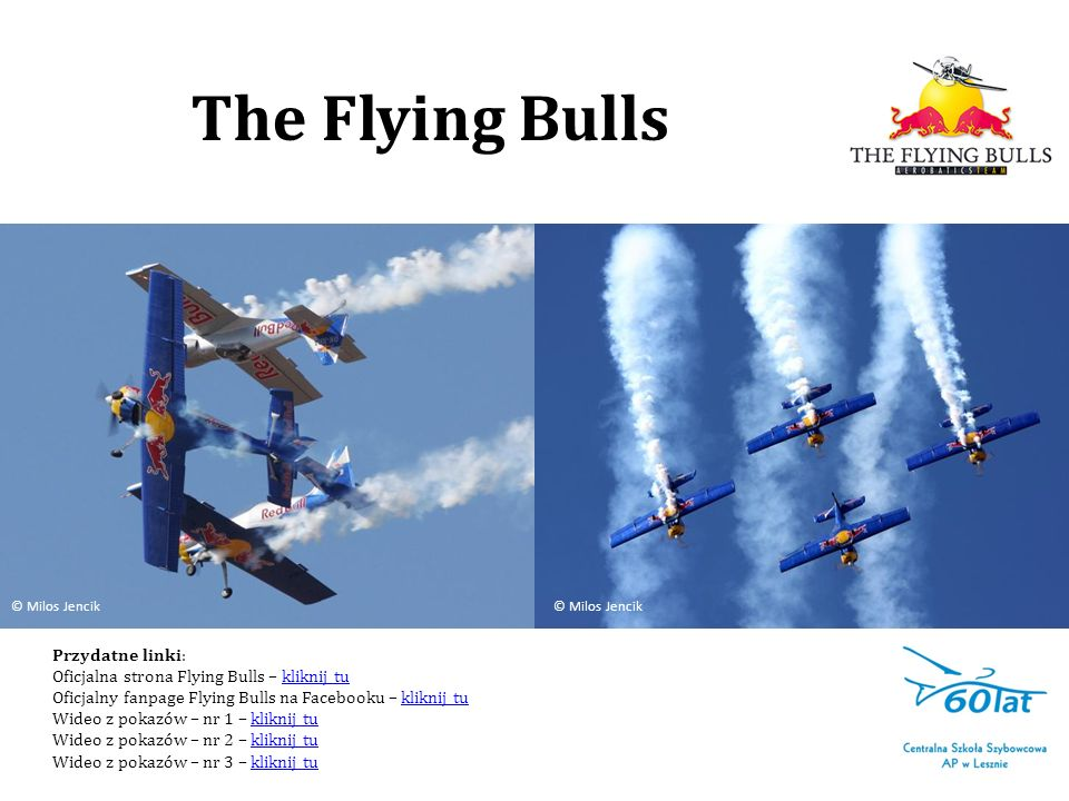 The Flying Bulls Przydatne linki: