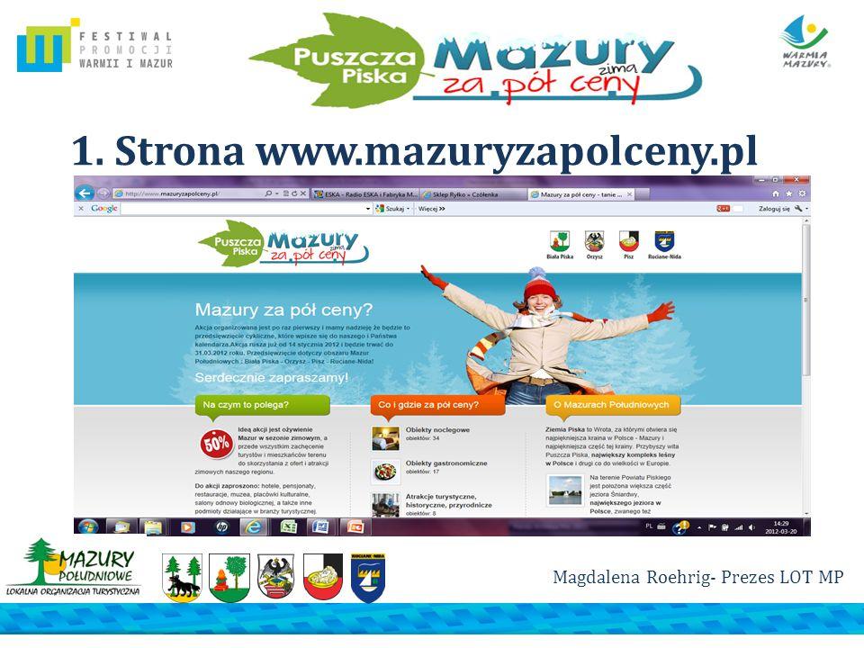 1. Strona www.mazuryzapolceny.pl