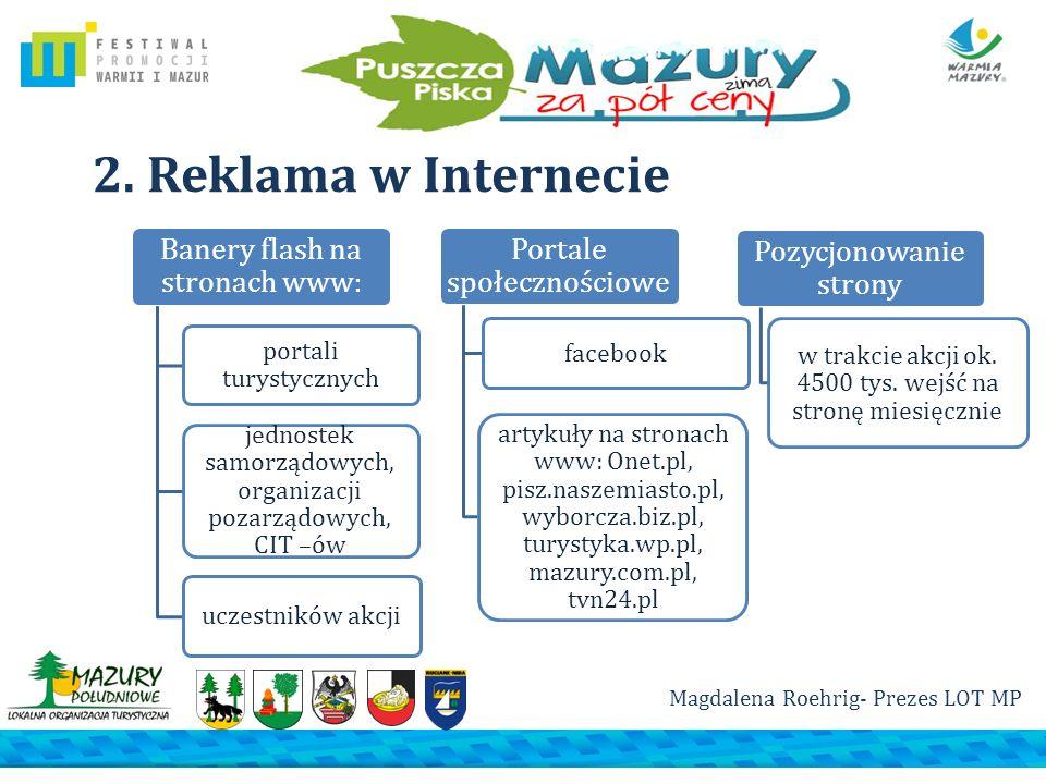 2. Reklama w Internecie portali turystycznych