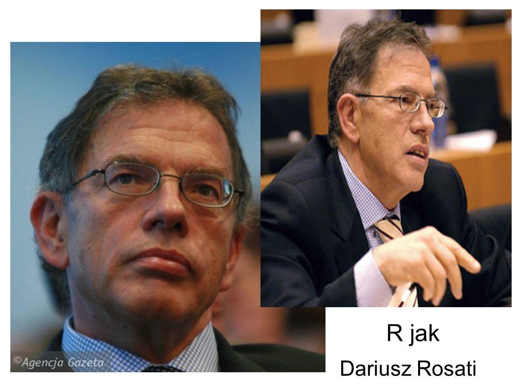 R jak Rosati Dariusz Kajetan
