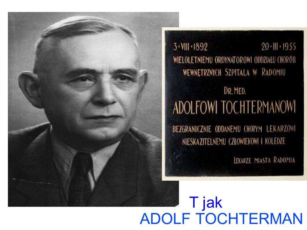 T jak ADOLF TOCHTERMAN T jak Tochterman Adolf