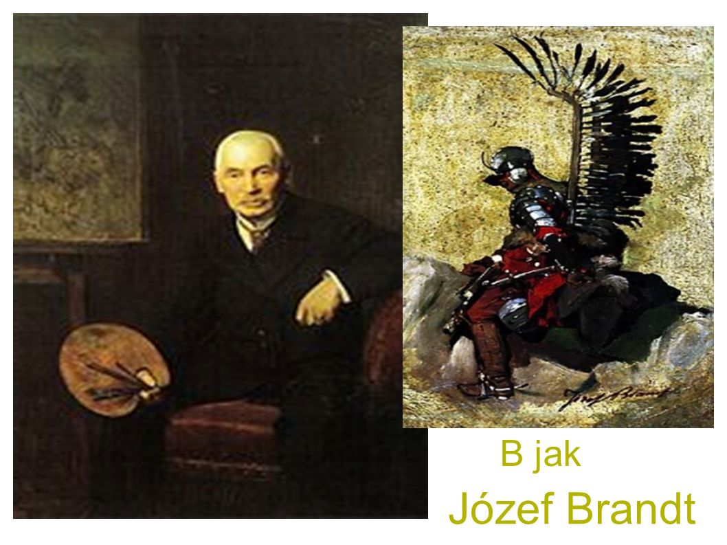 Józef Brandt B jak B jak Brandt Józef
