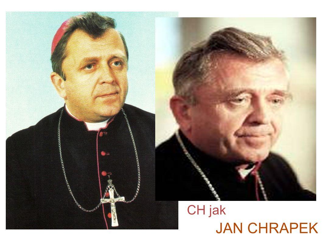 JAN CHRAPEK CH jak C jak Chrapek Jan