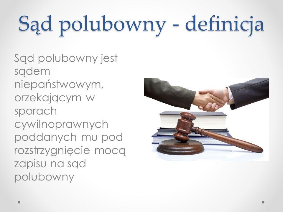 Sąd polubowny - definicja