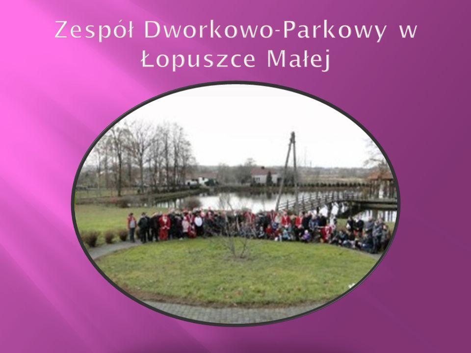 Zespół Dworkowo-Parkowy w Łopuszce Małej