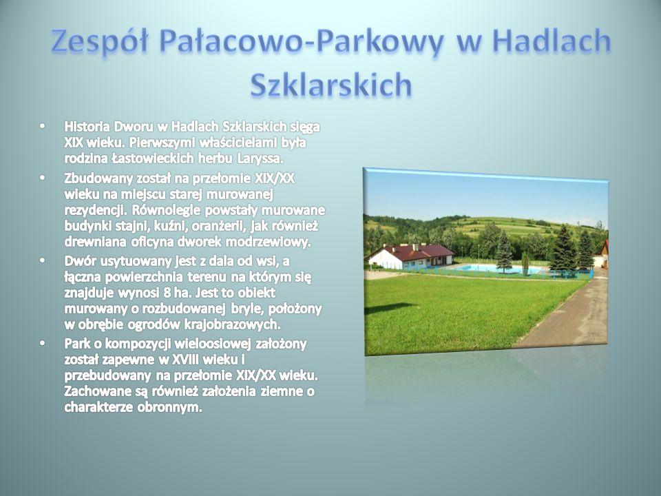 Zespół Pałacowo-Parkowy w Hadlach Szklarskich