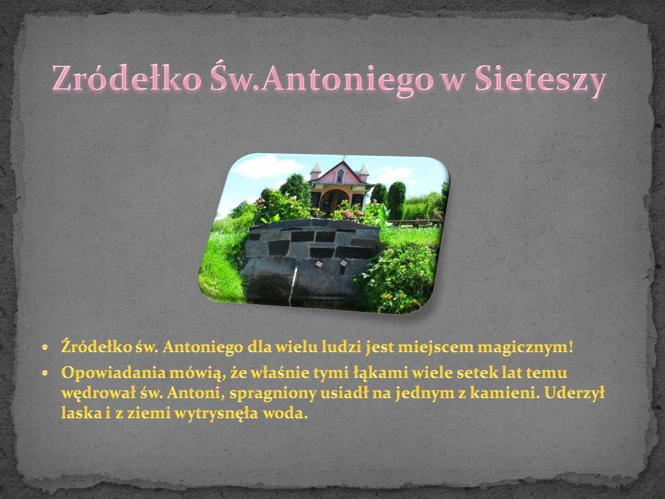 Zródełko Św.Antoniego w Sieteszy