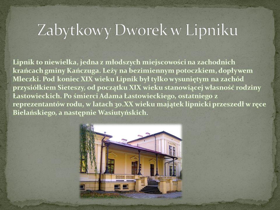 Zabytkowy Dworek w Lipniku