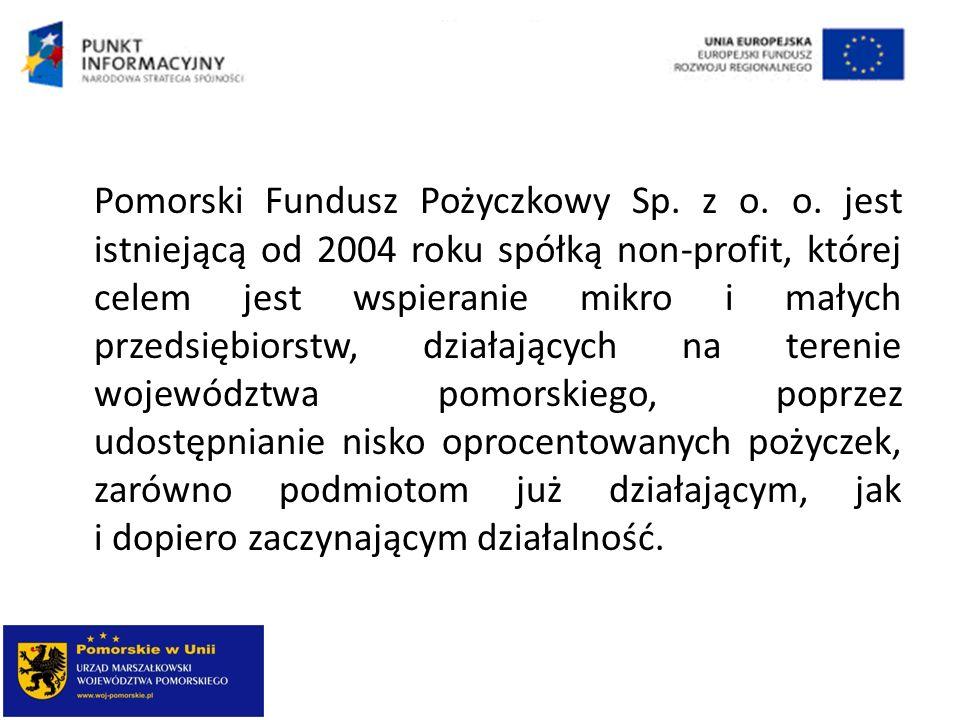 Pomorski Fundusz Pożyczkowy Sp. z o. o