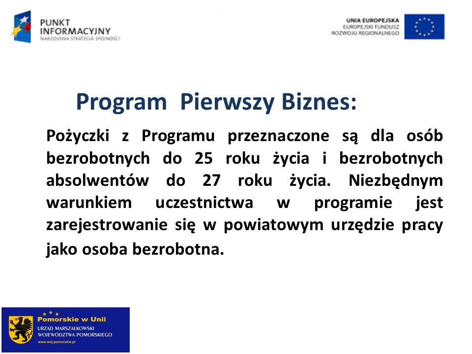 Program Pierwszy Biznes: