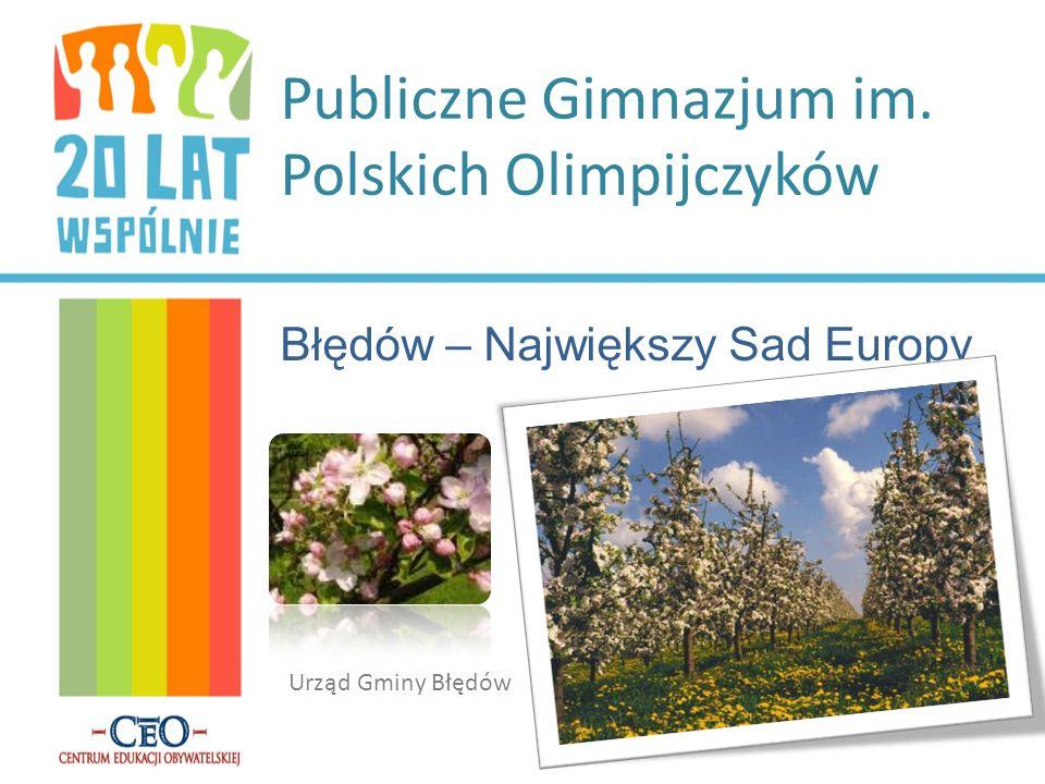 Publiczne Gimnazjum im. Polskich Olimpijczyków