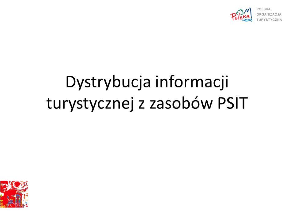 Dystrybucja informacji turystycznej z zasobów PSIT