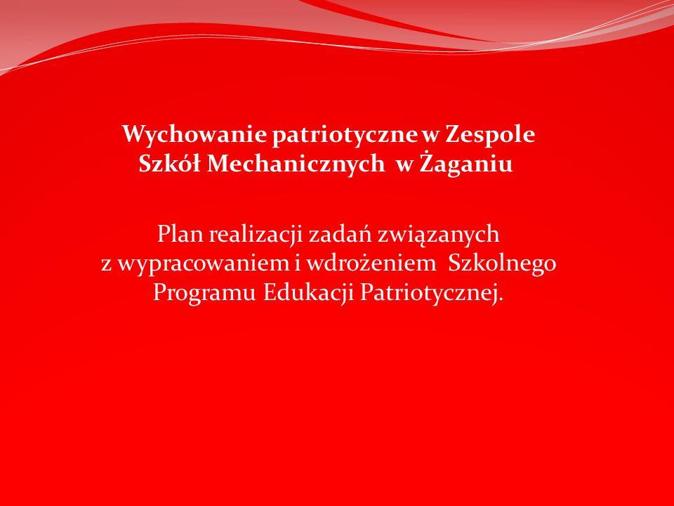 Wychowanie patriotyczne w Zespole Szkół Mechanicznych w Żaganiu